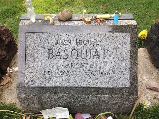 French tourists are coming to Brooklyn to clean Basquiat's grave