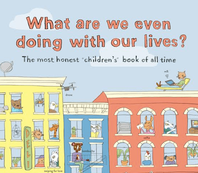 This Brooklyn-based book is a kid-friendly introduction to existential crisis