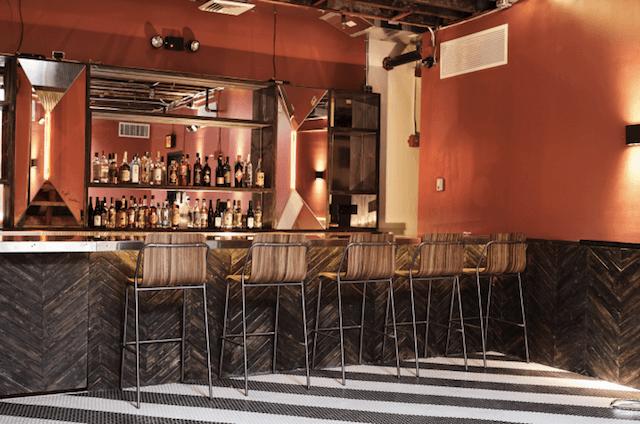 The second floor bar / cafe The Loft