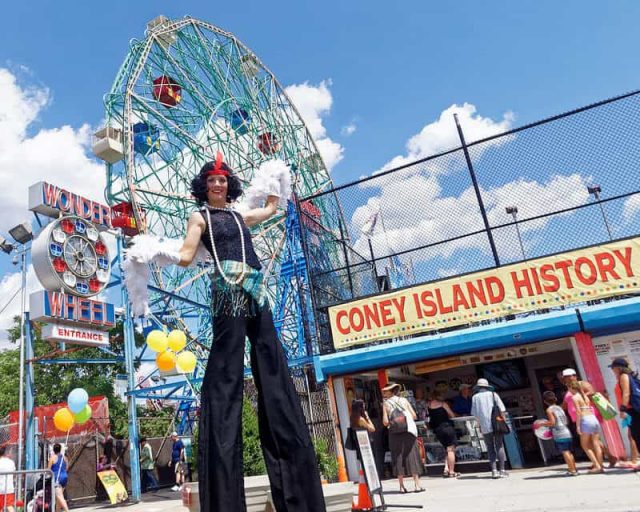 Walk tall through the history of Coney Island (#8). Photo by Jim McDonnell; c/o Coney Island History Project)