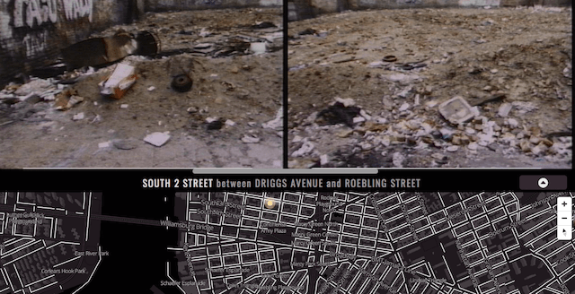 Relive '80s New York, when W'burg was a literal pile of debris, with this interactive map