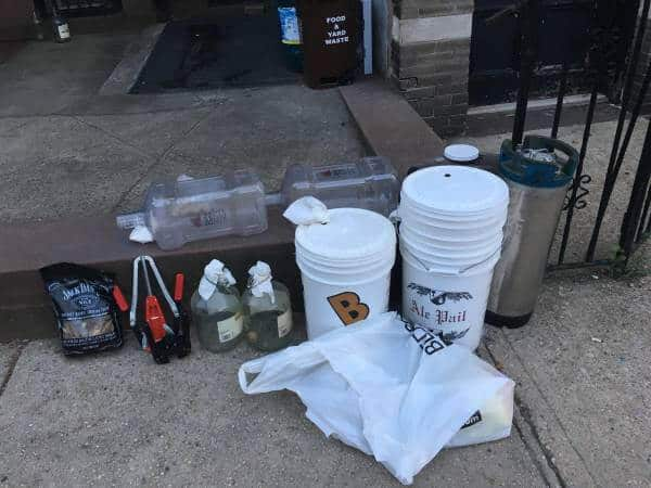 Nab this free homebrewing equipment in Carroll Gardens
