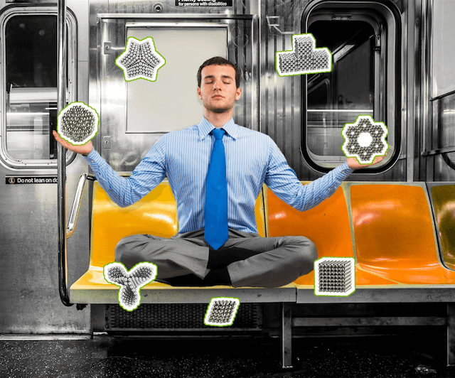 This company is using subway delays as a marketing tool to sell fidget toys