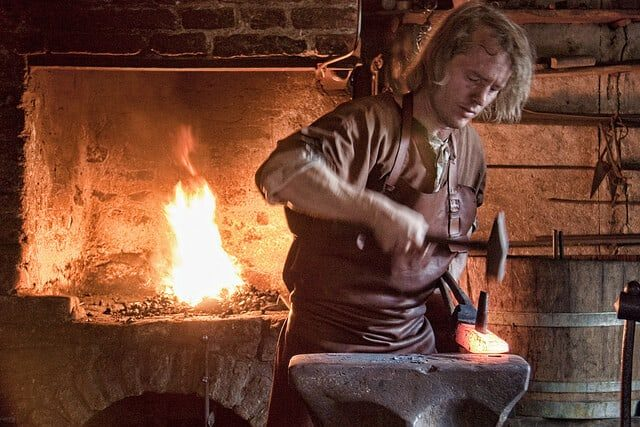 Parks Department now hiring a full-time blacksmith to make over $100,000 a year