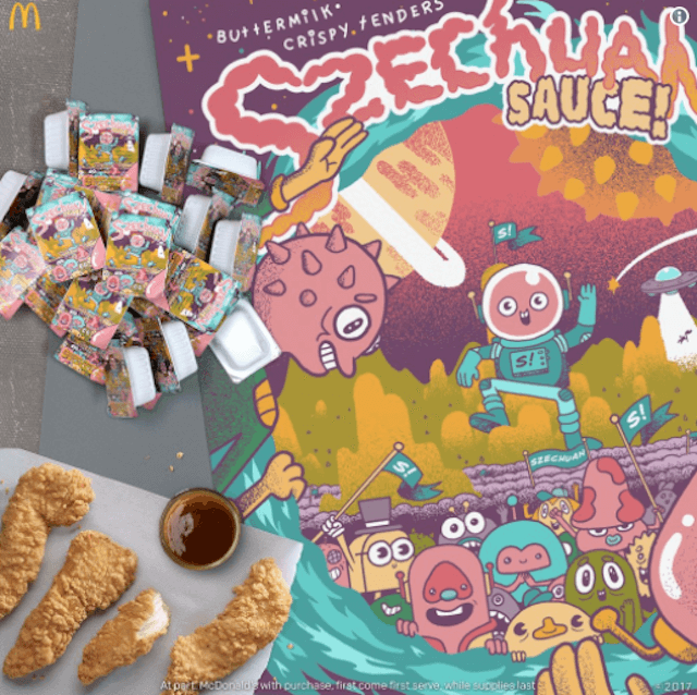 McDonald's is giving away Szechuan Sauce at these 9 NYC locations on Saturday