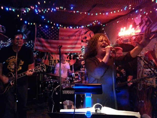 Sing it loud at live band karaoke (#15). Photo via Facebook.