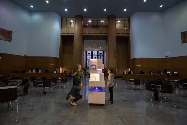 'Tiny science museum' takes up residence in Brooklyn Public Library's lobby