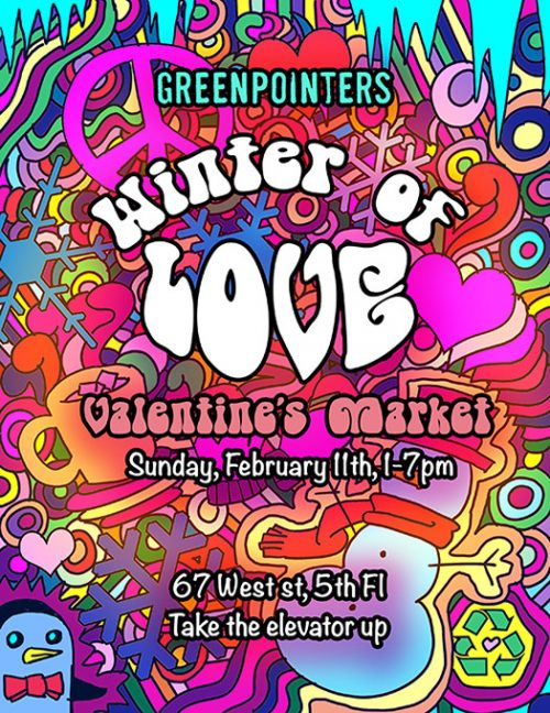 Vendor call: Apply now for Greenpointers' Valentine's Market