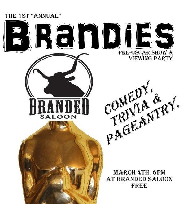 Brandies- Oscar Viewing Party!