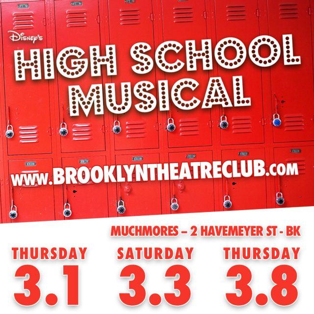 brooklyn theatre club's production of DISNEY's HIGH SCHOOL MUSICAL