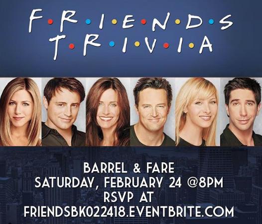 FREE Friends (TV) Trivia