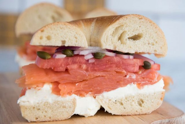 Help consume the world's biggest bagel & lox in Greenpoint this Friday