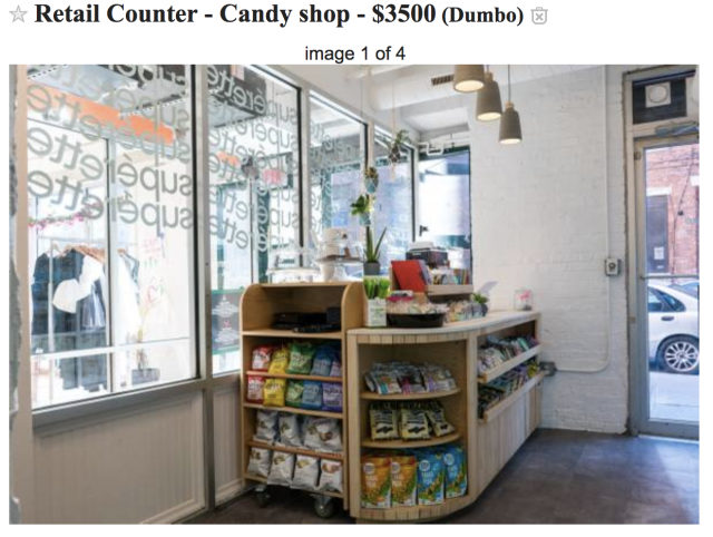 Dumbo's bodega-flouting 'artisanal mini mart' closing after just 3 months, posts counter to Craigslist