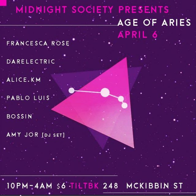 Midnight Society Presents: Age of Aries