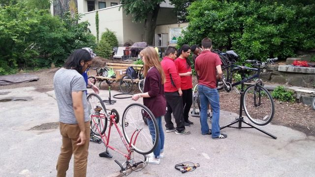 1st Friday Fix-Your-Own-Bike Al Fresco Workshop