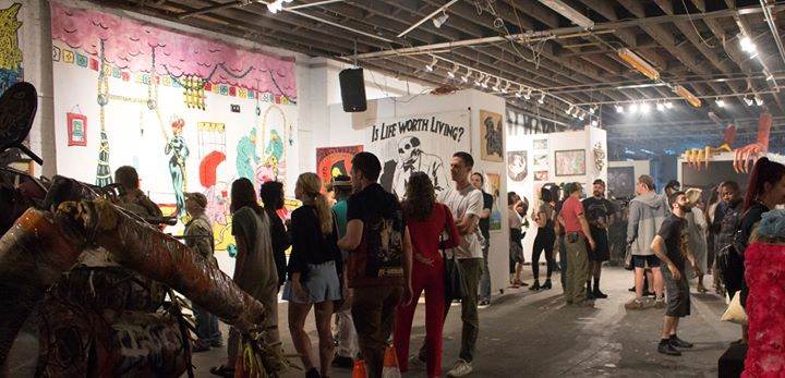 Every Sunday, 2pm-12am. FREE Gallery Hours, 2pm-7pm. Potluck and Movie  Night, 7pm-12am $10 entry, free if you bring food. Always free for arts  club members
