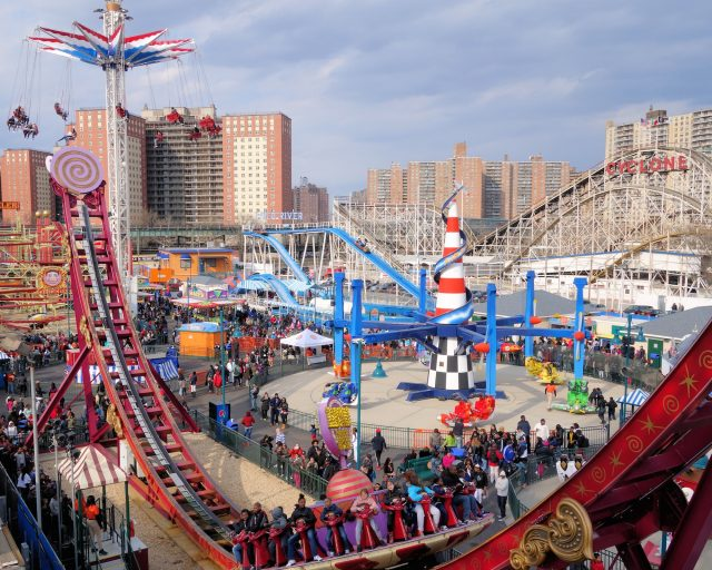 Ride all the rides at Luna Park for just $5 on opening day