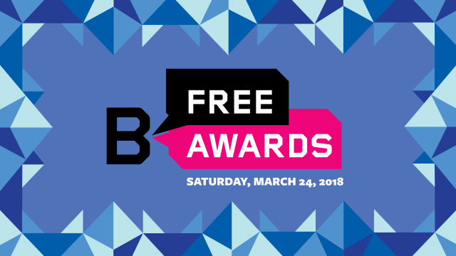 B Free Awards Ceremony & After Party 2018