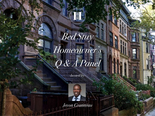 Bed Stuy Q & A Panel