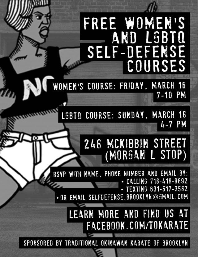 LGBTQ Self-Defense Class (free)