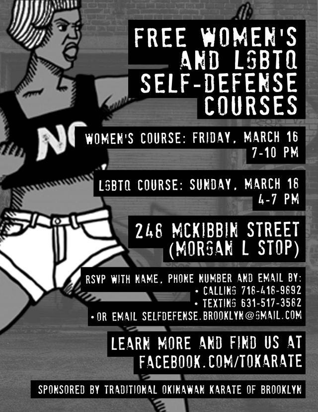 Women's Self-Defense Class (free)