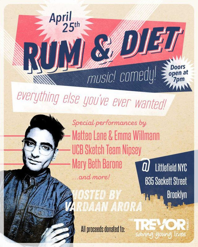 RUM & DIET: VARDAAN DOES VARIETY