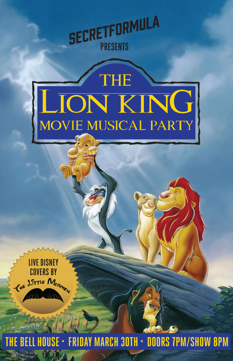 the lion king movie musical party brokelyn