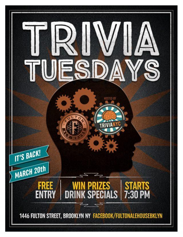 Tuesday Trivia @ Fulton Ale House