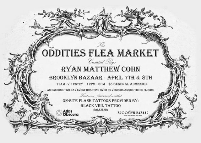 Top 10 strange and unusual items you can get at the Oddities Flea Market