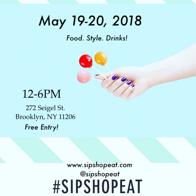 SIP. SHOP. EAT! at The Collective Market