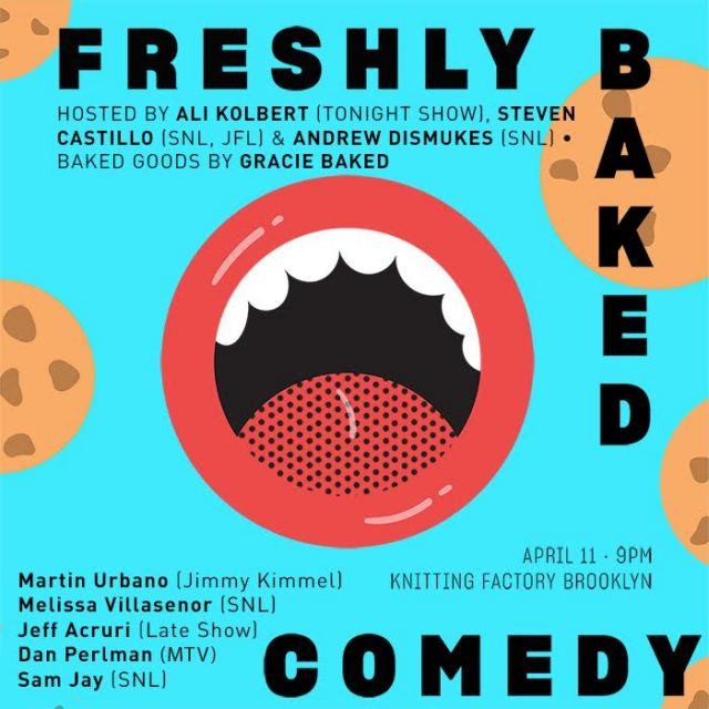 Freshly Baked serves up sweet comedy and cookies (4/11)