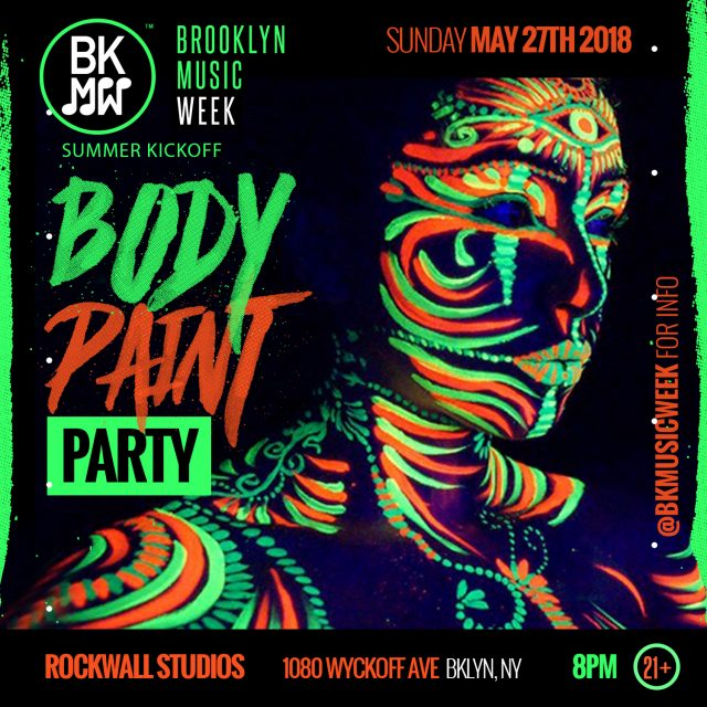 Glow Up Body Paint Party 5/27 – Memorial Day Weekend