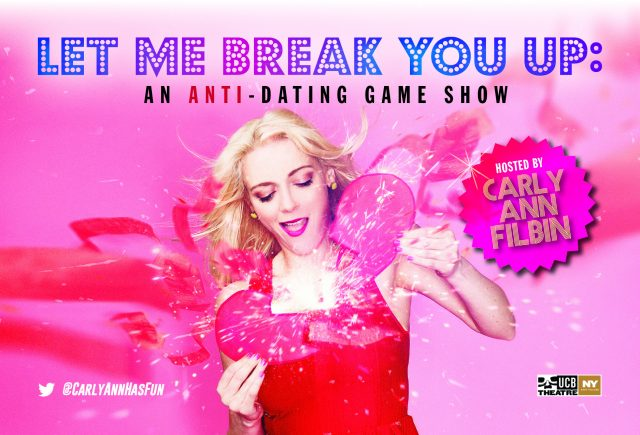 Let Me Break You Up: An Anti-Dating Game Show