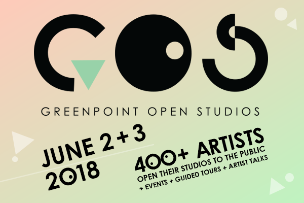 This weekend: Greenpoint Open Studios returns (6/2 + 6/3)
