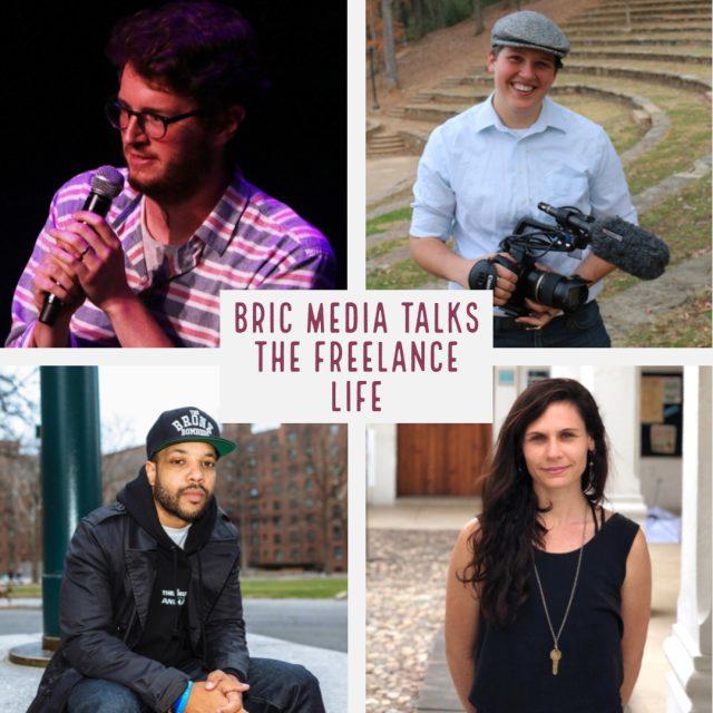 BRIC Media Talks: The Freelance Life