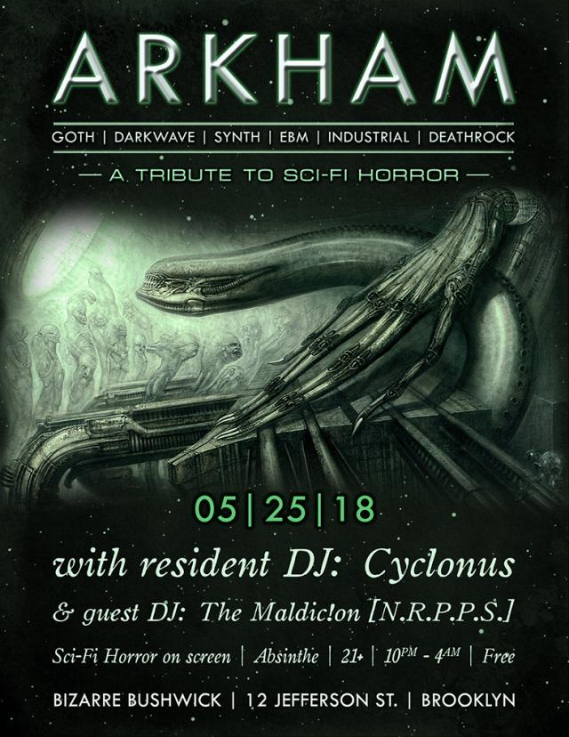 Arkham: Sci-Fi Horror Tribute