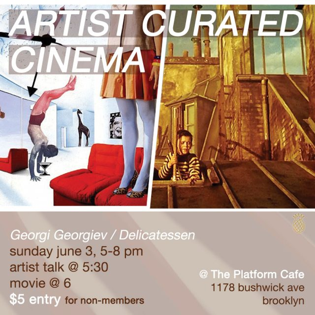 Artist Curated Cinema with PARADICE PALASE