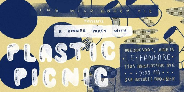 A Dinner Party with Plastic Picnic