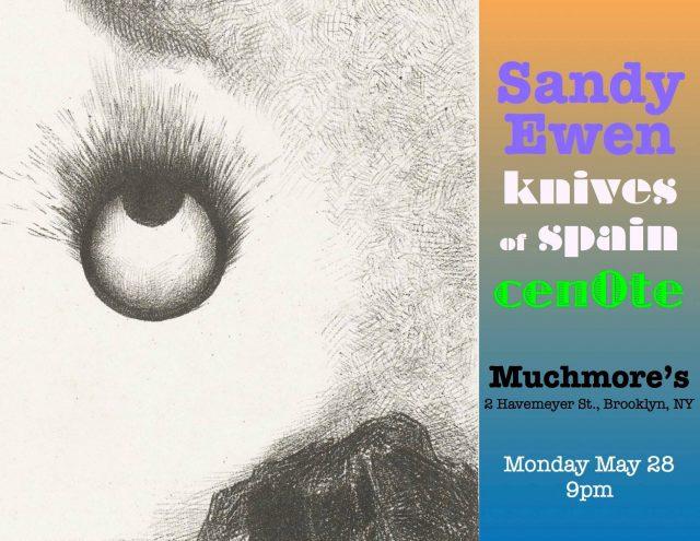 Sandy Ewen // knives of spain // cenOte