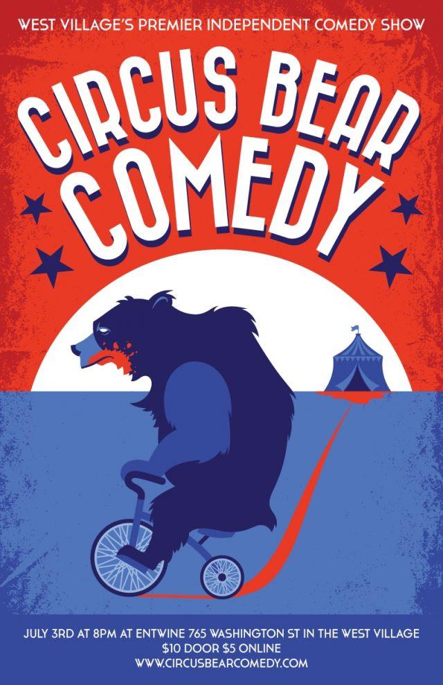 Circus Bear Comedy