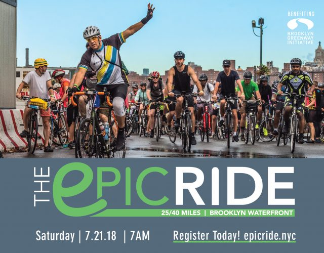 Don't miss the Epic Ride this July