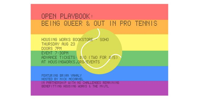 Open Playbook: Being Queer & Out in Pro Tennis