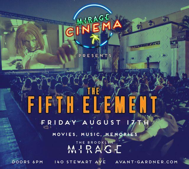 "Mirage Cinema – ""The Fifth Element"""