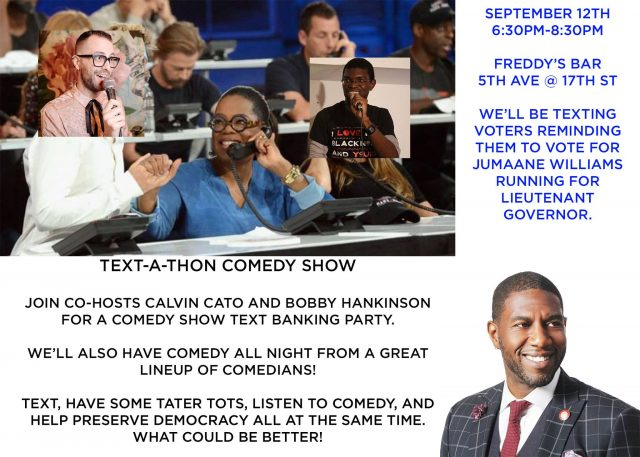 Text-a-Thon Comedy Show