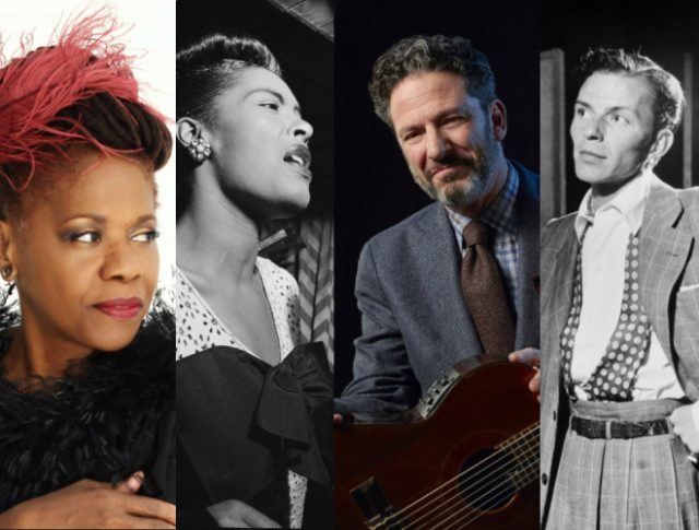 """On Stage At Kingsborough Presents Grammy Award-Winning Vocalist Catherine Russell and Famed Singer/Guitarist John Pizzarelli in """"Billie and Blue Eyes"""""""
