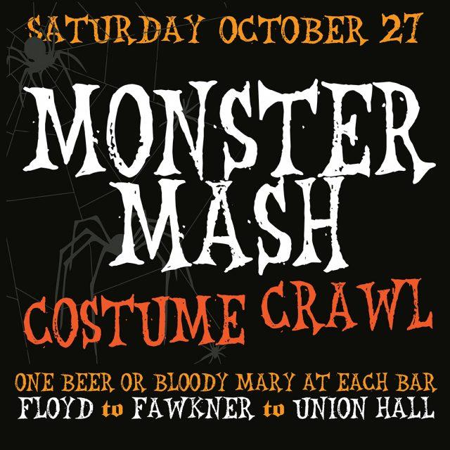 Monster Mash Costume Crawl