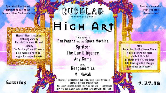 Rubulad Presents High Art!