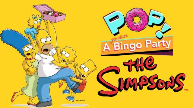 Pop! A Bingo Party: Simpsons Edition
