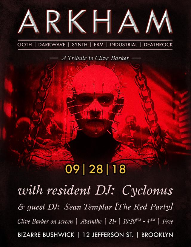 Arkham: Clive Barker Tribute