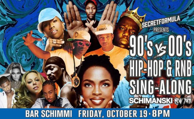 90's vs. 00's Hip Hop & RnB Sing-Along